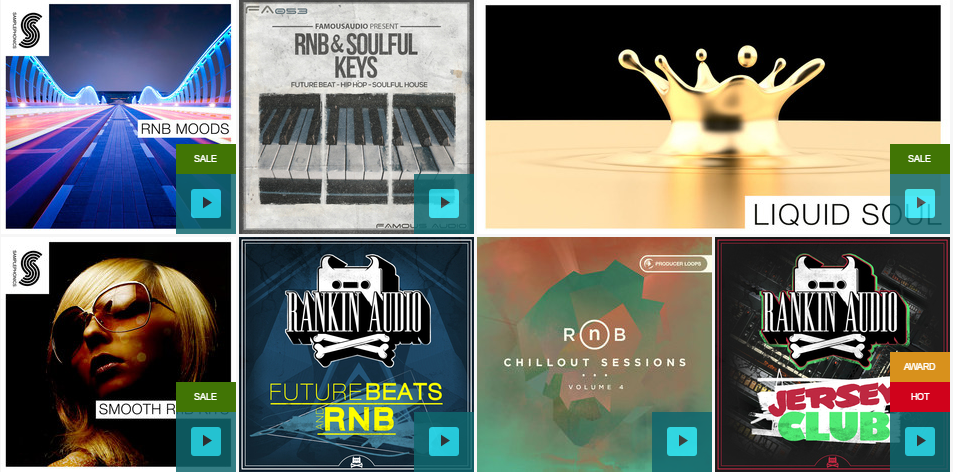 Rnb drum kits and sound packs
