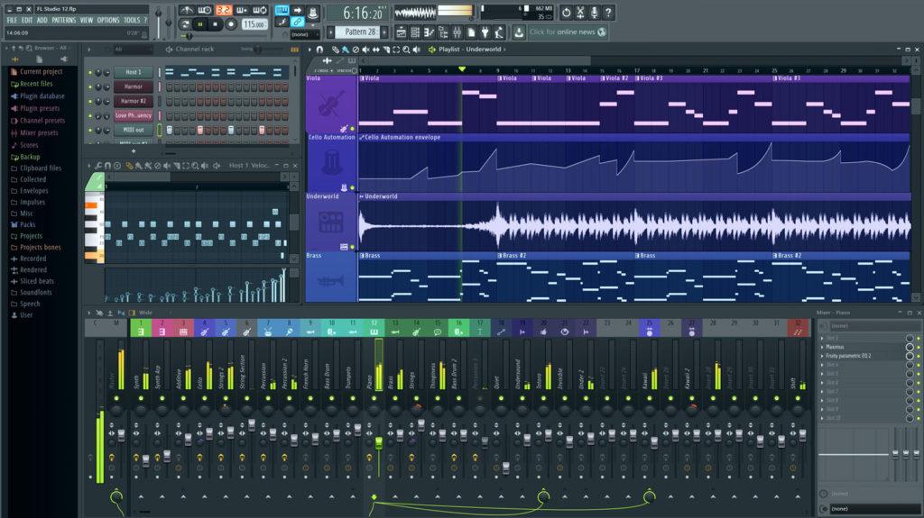 The Ultimate FL Studio Keyboard & Piano Roll Shortcuts List